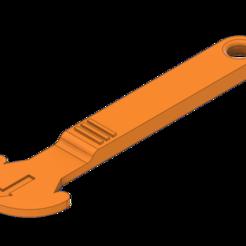 Clé_jeton_v1.png Download free STL file Clé jeton / Token key • 3D print model, AlxVsn