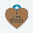 Capture.PNG Download free STL file HEART PENDANT • 3D printer design, vanessad123
