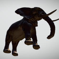 elephant 2.PNG Télécharger fichier OBJ Éléphant • Objet à imprimer en 3D, rollingtothefuture