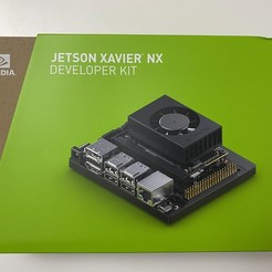 38.jpg Download STL file Jetson Xavier NX Enclosure • 3D printer object, kimiraikkonen6