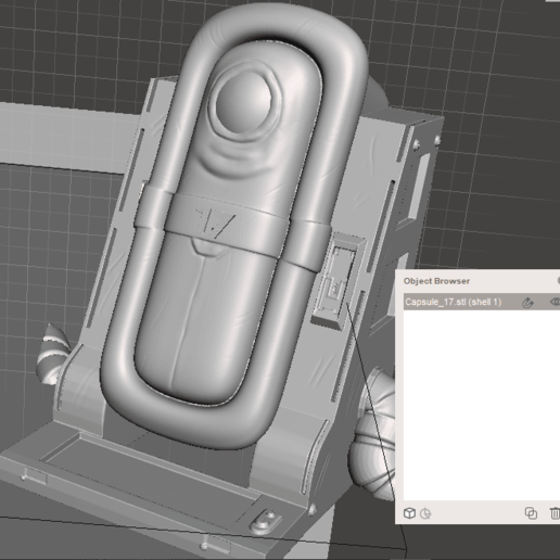 Download 3D printer templates C17/18 Capsules, adcnsmrld