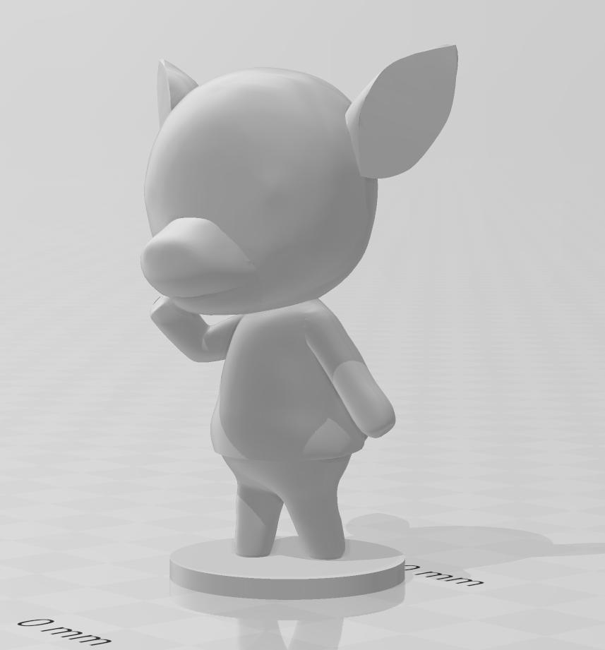 diana.PNG Download free STL file Diana - Animal Crossing • 3D printing template, skelei
