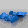 alice_split.png Download free STL file Alice - Animal Crossing • 3D printable template, skelei