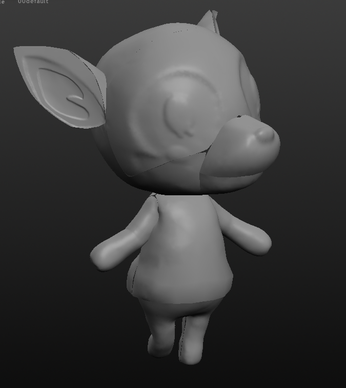 fauna2.PNG Download free STL file Fauna from Animal Crossing • 3D printing object, skelei