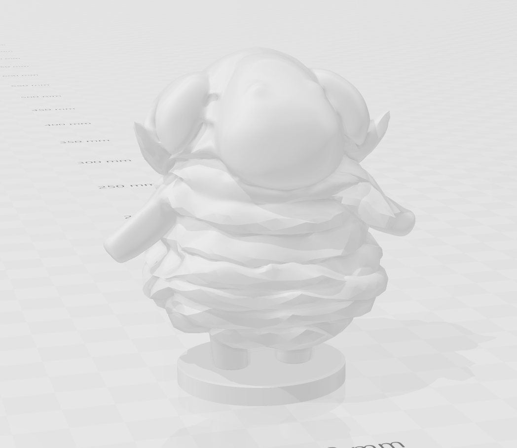 sheeep.PNG Download free STL file Animal Crossing Sheep • Object to 3D print, skelei