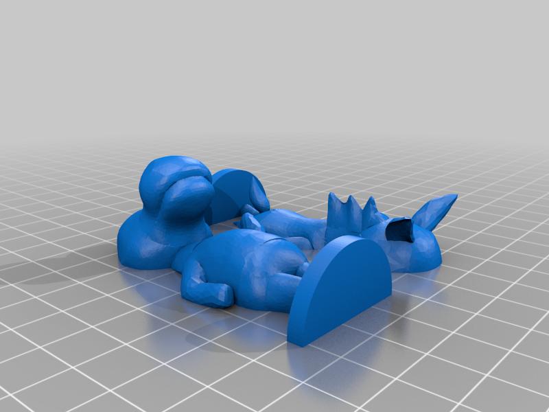 reneigh_split.png Download free STL file Roscoe - Animal Crossing • Template to 3D print, skelei