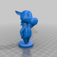 reneigh_full.png Download free STL file Roscoe - Animal Crossing • Template to 3D print, skelei