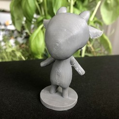 Download free STL file Sherb - Animal Crossing • 3D print object, skelei