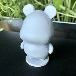 IMG_5521.jpg Download free STL file Hamster - Animal Crossing • Object to 3D print, skelei