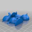 ellie_split.png Download free STL file Tia and Ellie - Animal Crossing • 3D printable model, skelei