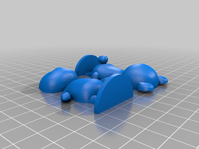 megan_split.png Download free STL file Megan - Animal Crossing • 3D printable model, skelei