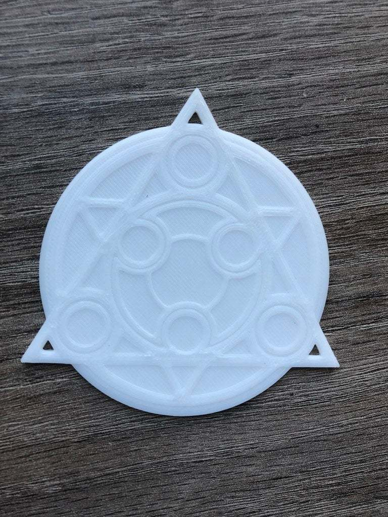 IMG_5867.jpg Download free STL file Symphonia Save Point Coaster • 3D print template, skelei