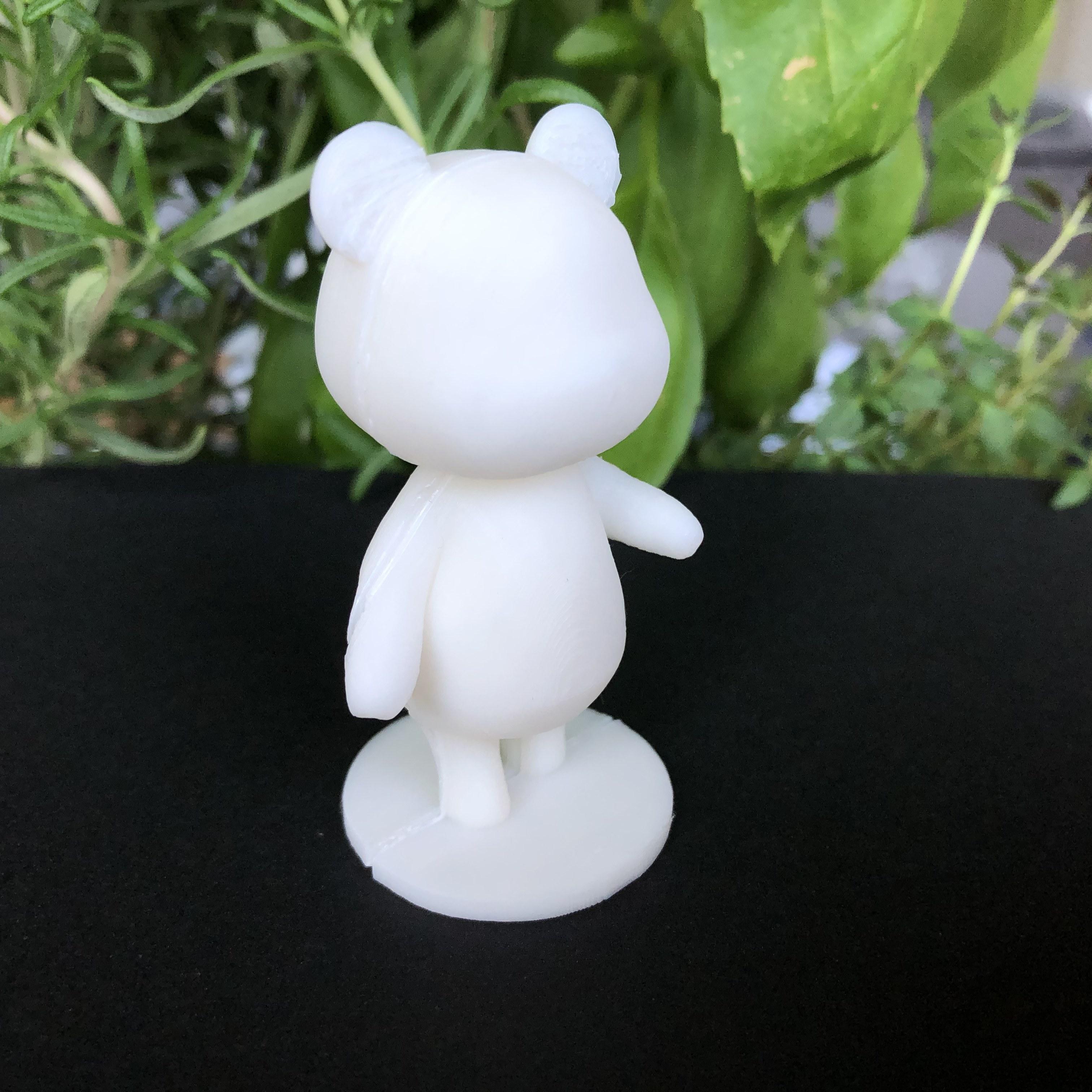 IMG_5541.jpg Download free STL file Megan - Animal Crossing • 3D printable model, skelei