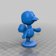flora_full.png Download free STL file Flora - Animal Crossing • 3D print object, skelei
