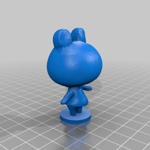 lily_full.png Download free STL file Lily - Animal Crossing • 3D print design, skelei