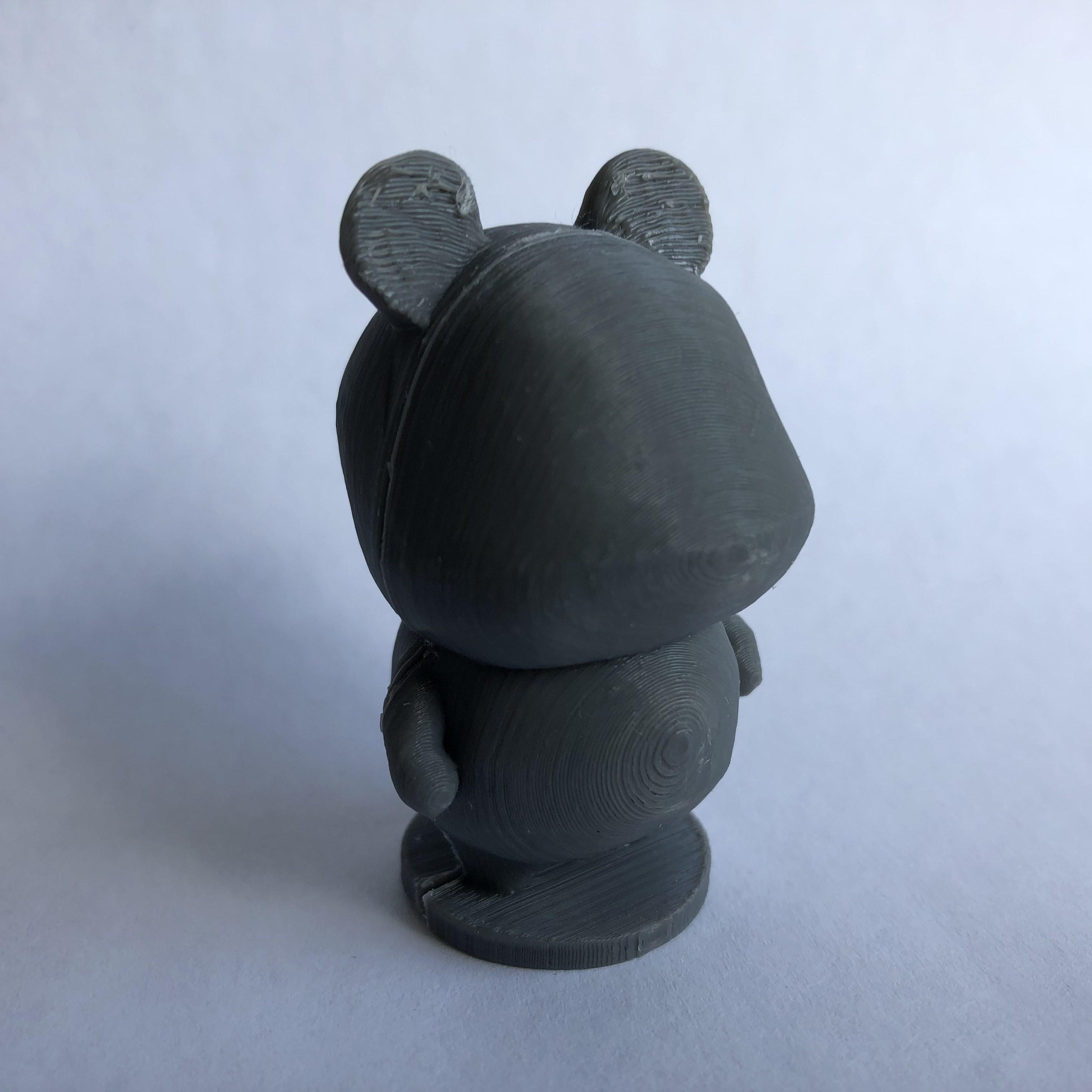 IMG_5466.jpg Download free STL file Hamster - Animal Crossing • Object to 3D print, skelei