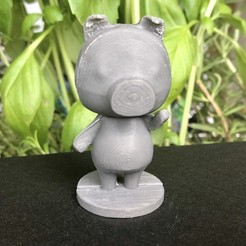 IMG_5502.jpg Download free STL file Agnes - Animal Crossing • Design to 3D print, skelei