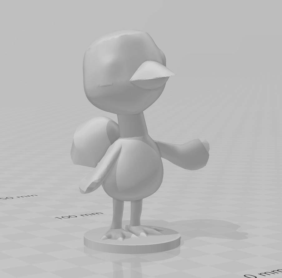 flora.PNG Download free STL file Flora - Animal Crossing • 3D print object, skelei