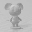koala.PNG Download free STL file Alice - Animal Crossing • 3D printable template, skelei