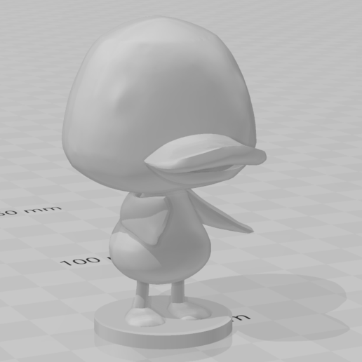 molly.PNG Download free STL file Molly - Animal Crossing • 3D print model, skelei