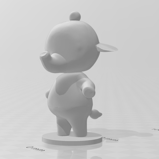 tia.PNG Download free STL file Tia and Ellie - Animal Crossing • 3D printable model, skelei