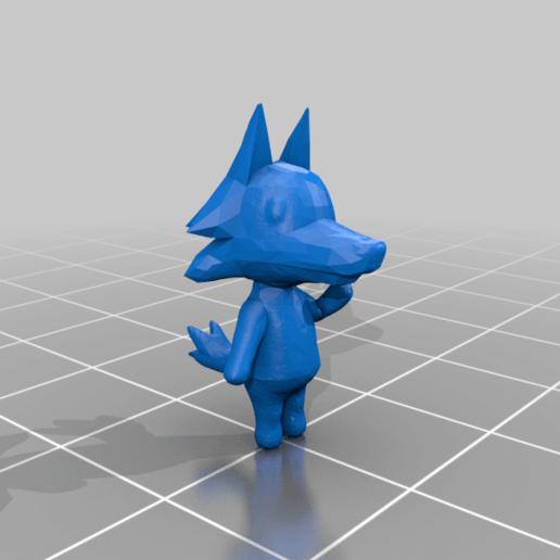skye5.png Download free OBJ file Animal Crossing Wolf • 3D printer design, skelei