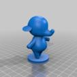 ellie_full.png Download free STL file Tia and Ellie - Animal Crossing • 3D printable model, skelei