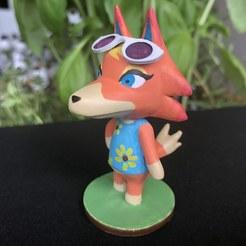 Descargar archivos 3D gratis Audie - Animal Crossing, skelei