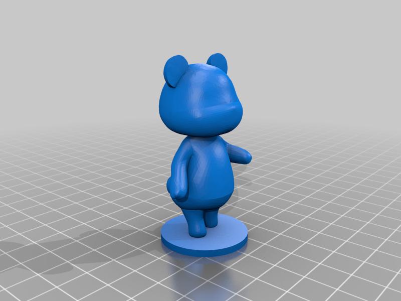 megan_full.png Download free STL file Megan - Animal Crossing • 3D printable model, skelei