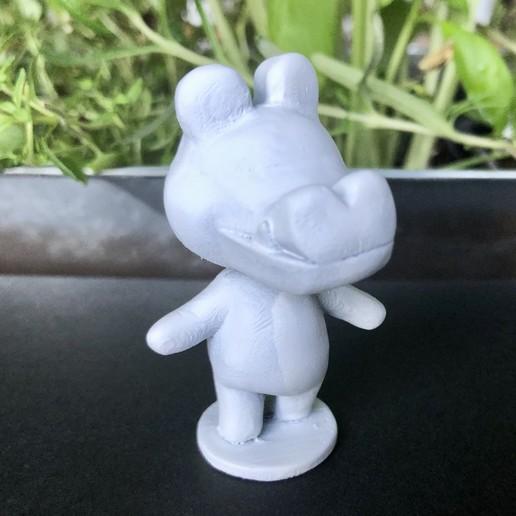 IMG_5518.jpg Download free STL file Alligator from Animal Crossing • 3D printable template, skelei