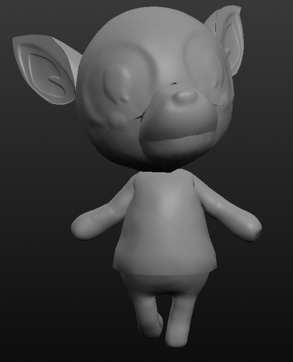 fauna.PNG Download free STL file Fauna from Animal Crossing • 3D printing object, skelei