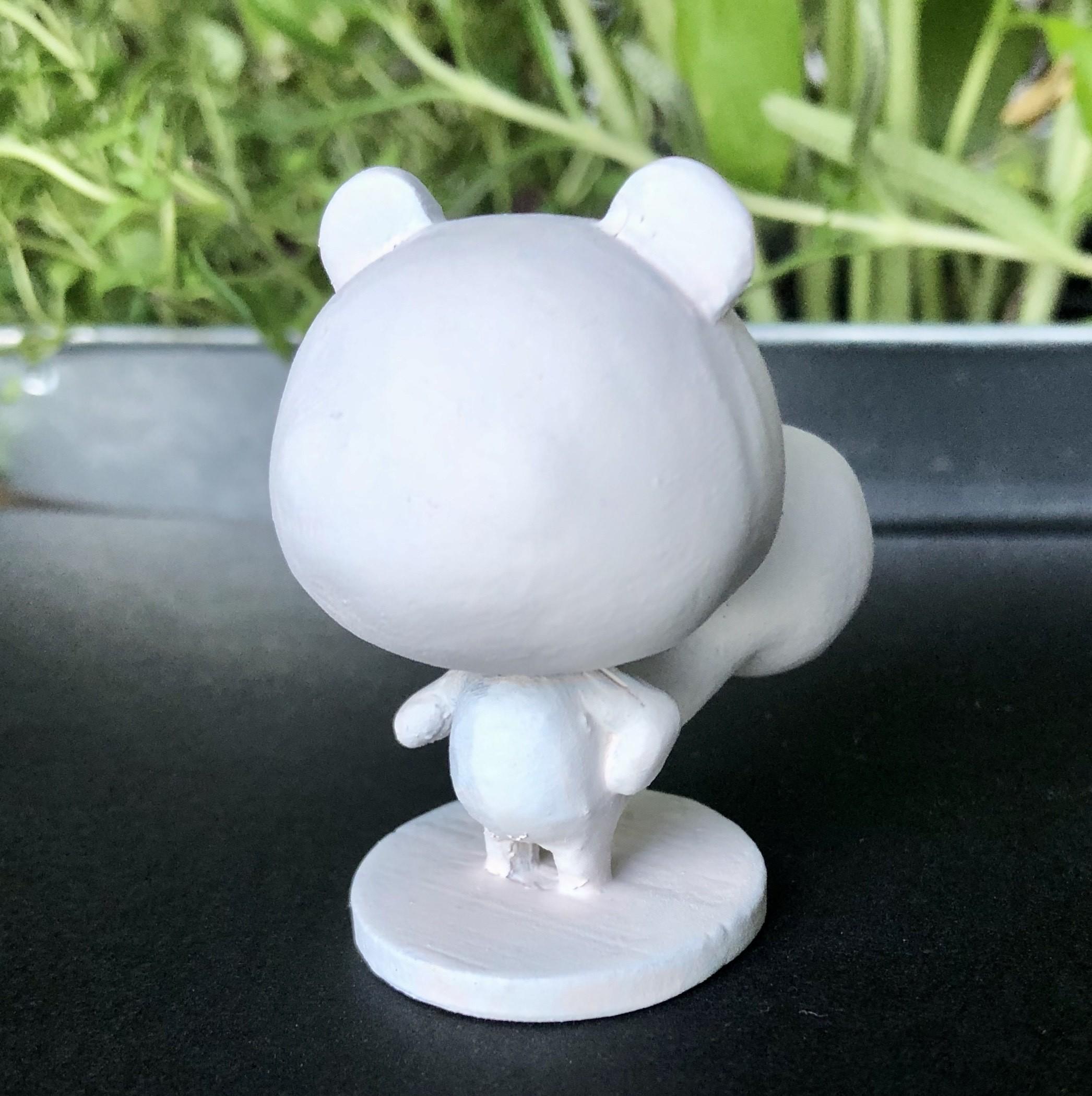 IMG_5527.jpg Download free STL file Animal Crossing Marshal • 3D print template, skelei