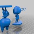 raymond_for_print.png Télécharger fichier STL gratuit Raymond - Traversée des animaux • Objet imprimable en 3D, skelei