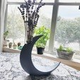 7CA54153-3134-4F41-A1FA-97427576BD88.jpg Download free STL file Minimalist Moon Vase • Object to 3D print, skelei