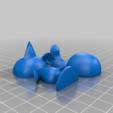 jay_split.png Download free STL file Jay - Animal Crossing • 3D printing design, skelei