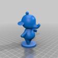 tia_full.png Download free STL file Tia and Ellie - Animal Crossing • 3D printable model, skelei