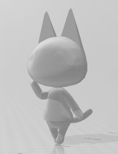 cat.PNG Download free STL file Animal Crossing Cat • 3D printable object, skelei