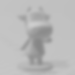 cow full.stl Download free STL file Animal Crossing Cow • 3D print object, skelei