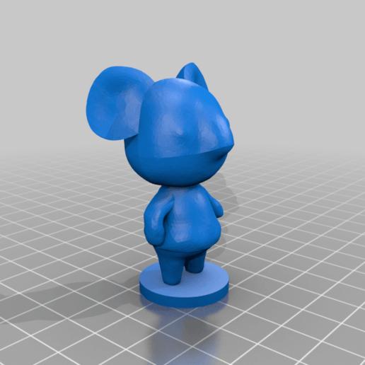 alice_full.png Download free STL file Alice - Animal Crossing • 3D printable template, skelei