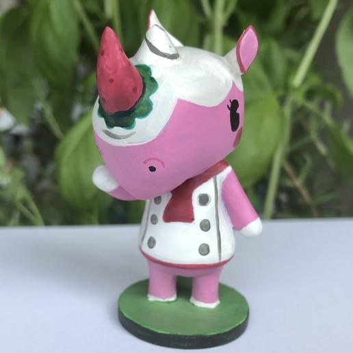 IMG_5492.jpg Download free STL file Merengue from Animal Crossing • 3D print template, skelei
