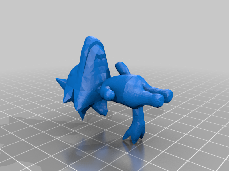 CE2_skye5.png Download free OBJ file Animal Crossing Wolf • 3D printer design, skelei