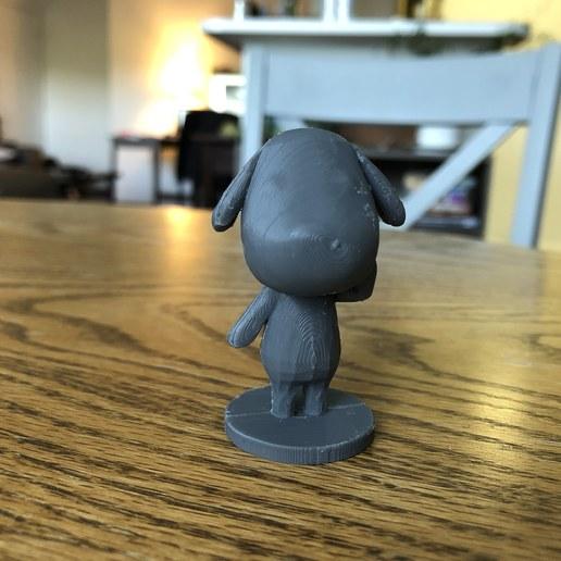 IMG_5322 (1).jpg Download free STL file Goldie Animal Crossing • Template to 3D print, skelei
