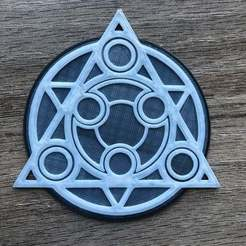 Download free 3D printer model Symphonia Save Point Coaster, skelei