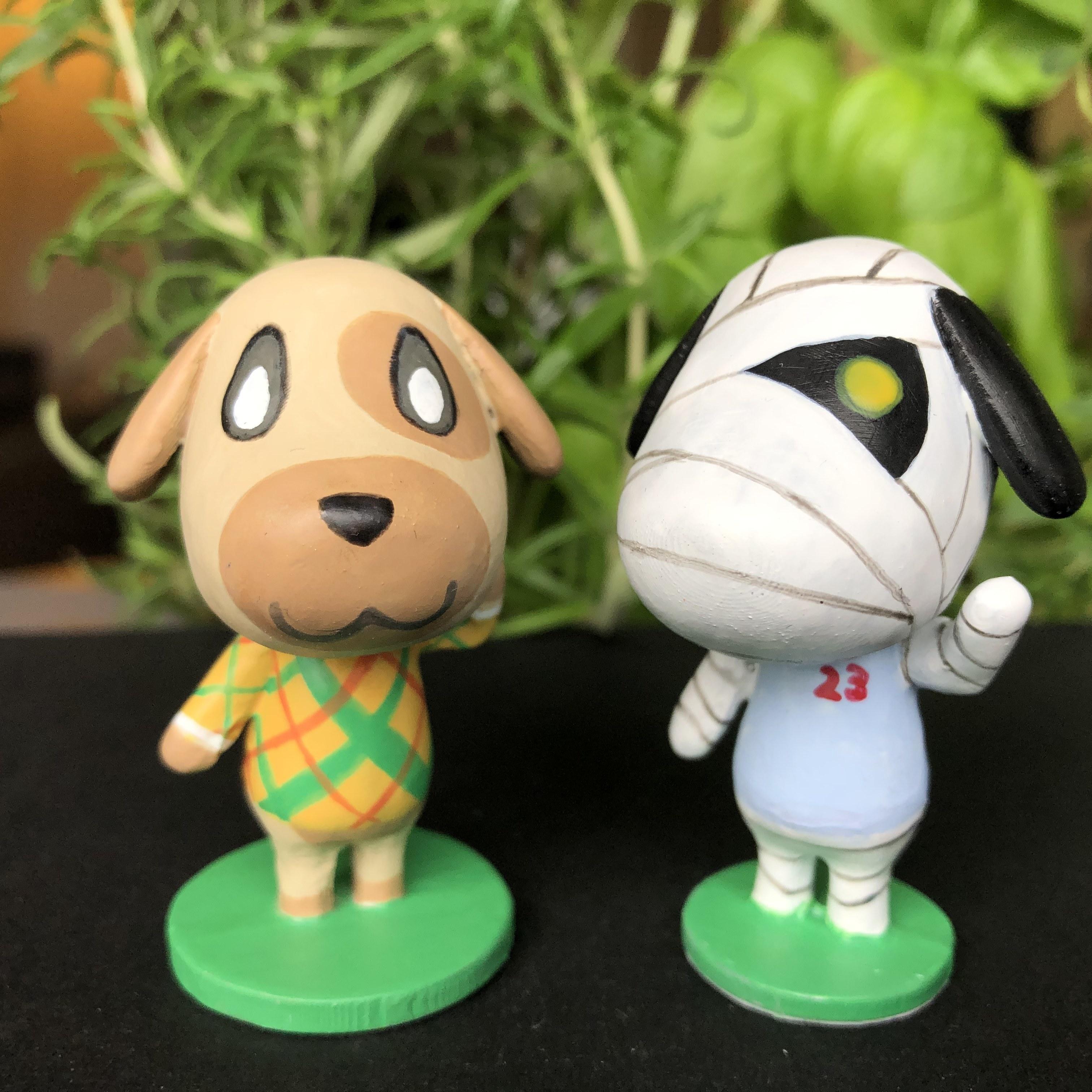IMG_5614.jpg Download free STL file Goldie Animal Crossing • Template to 3D print, skelei
