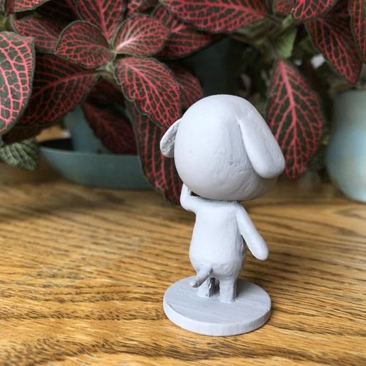 IMG_5390.jpg Download free STL file Goldie Animal Crossing • Template to 3D print, skelei