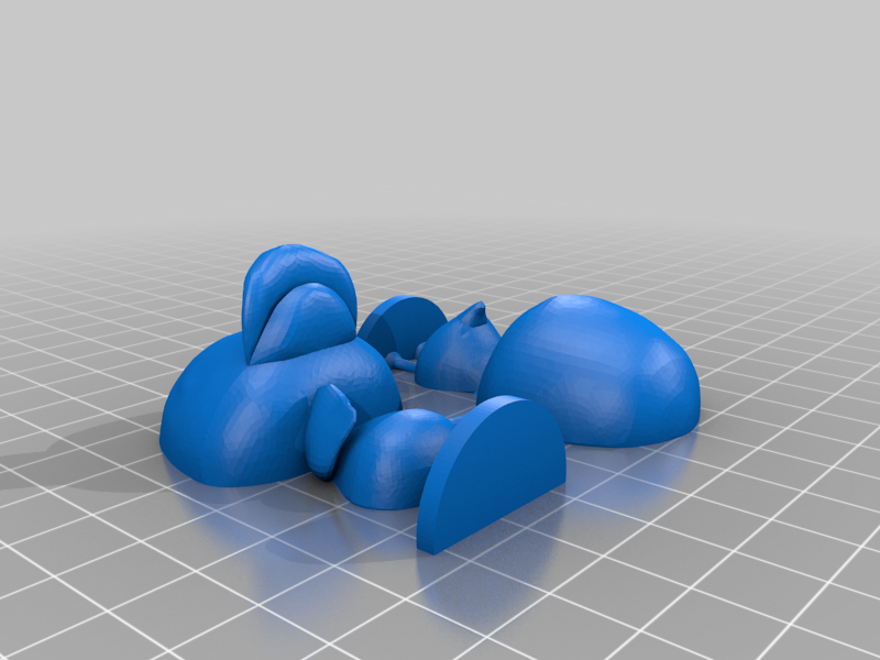 molly_split.png Download free STL file Molly - Animal Crossing • 3D print model, skelei