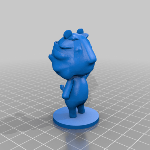 lion_full.png Download free STL file Rex - Animal Crossing • 3D printable object, skelei