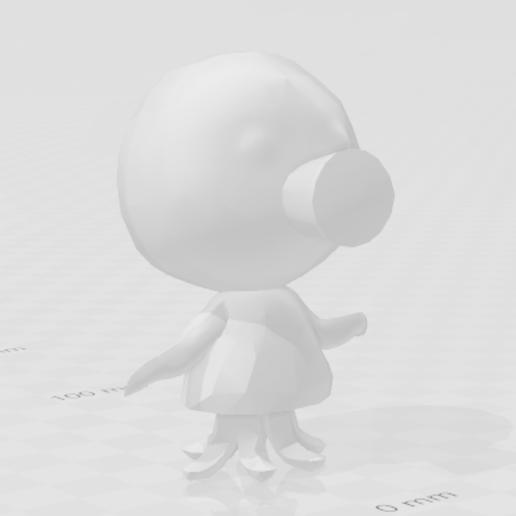 marina.PNG Download free STL file Marina Animal Crossing • 3D printable object, skelei