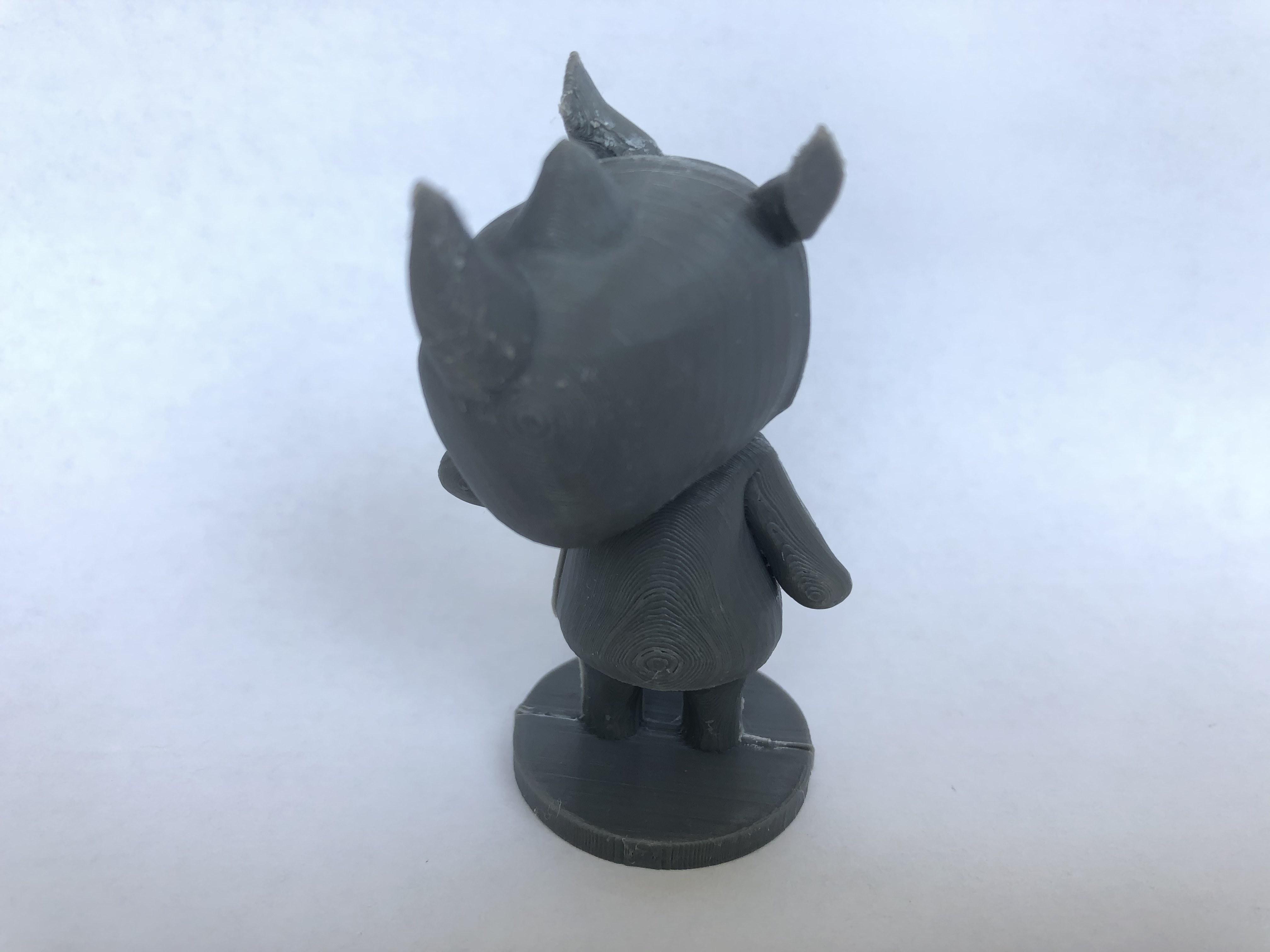 IMG_5431.jpg Download free STL file Merengue from Animal Crossing • 3D print template, skelei