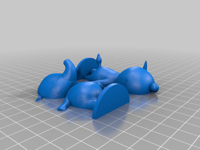 tia_split.png Download free STL file Tia and Ellie - Animal Crossing • 3D printable model, skelei